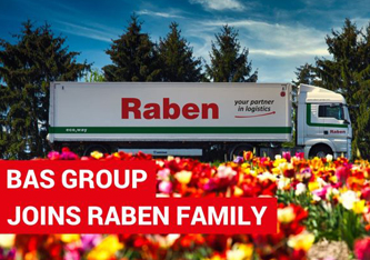 Raben Group neemt Bas Group over